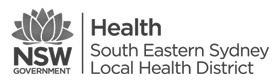 South Eastern Sydney LHD Logo